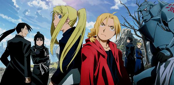Büyü Animesi - Fullmetal Alchemist