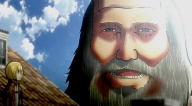 Sakallı Yaşlı Adam Titan