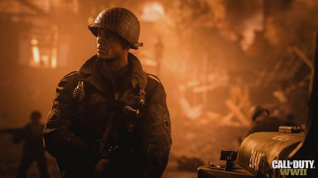 Call of Duty WWII oyun görüntüleri
