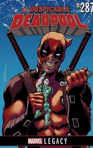 The despicable deadpool cover