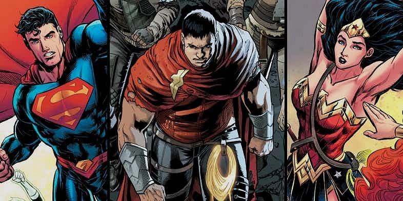 Superman ve Wonder Woman'ın oğlu