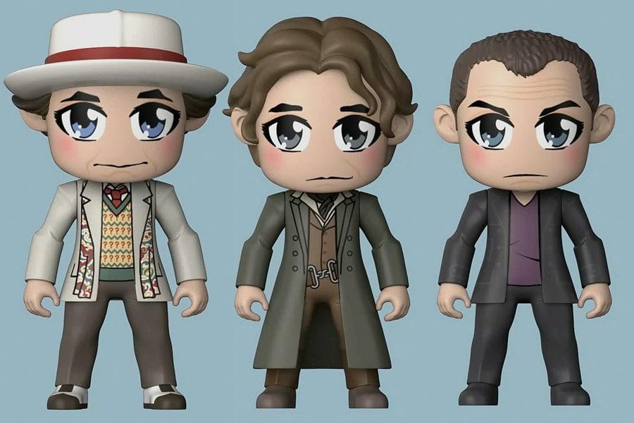 Yedinci, Sekizinci ve Dokuzuncu Doktor artık Kawaii