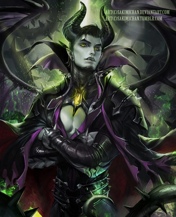 <strong>10- Maleficent (Sleeping Beauty)</strong>