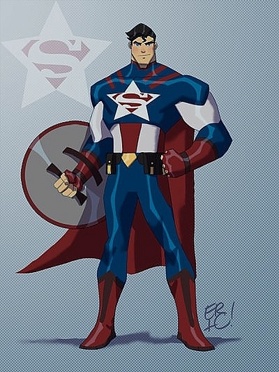 <strong>Captain Krypton (Superman ve Captain America)</strong>