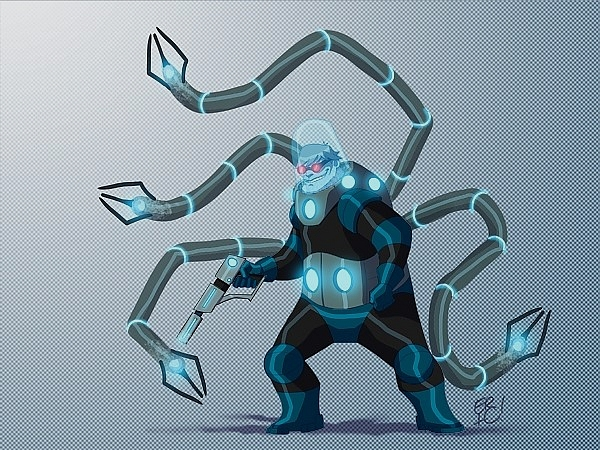 <strong>Dr. Octofreeze (Mr. Freeze ve Dr. Octopus)</strong>