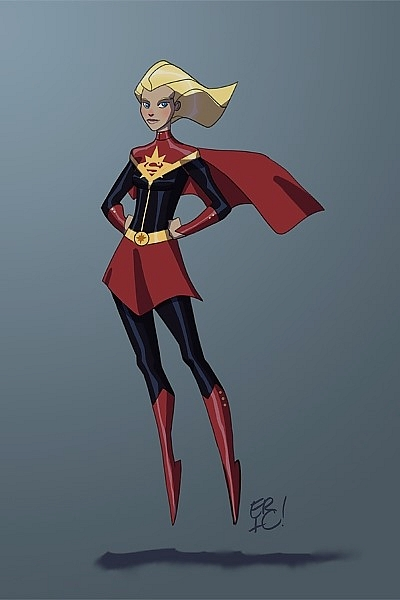 <strong>Marvelous Girl (Captain `Marvel` ve Supergirl)</strong>