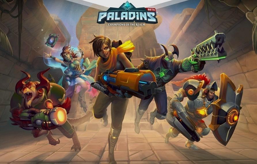 <strong><u>5- Paladins</u></strong>