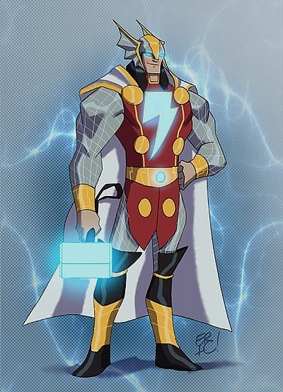 <strong>Thunder God (Thor ve Shazam)</strong>