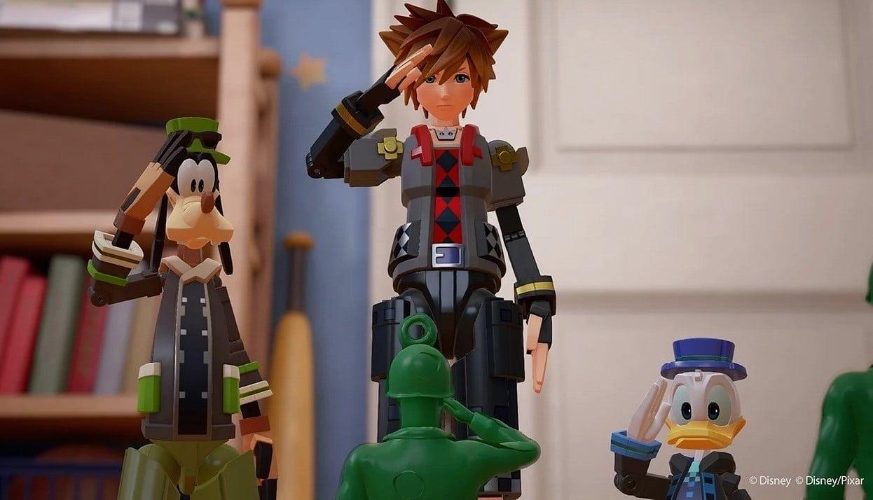 Kingdom Hearts 3'ün yapımı tamamlandı ile ilgili görsel sonucu