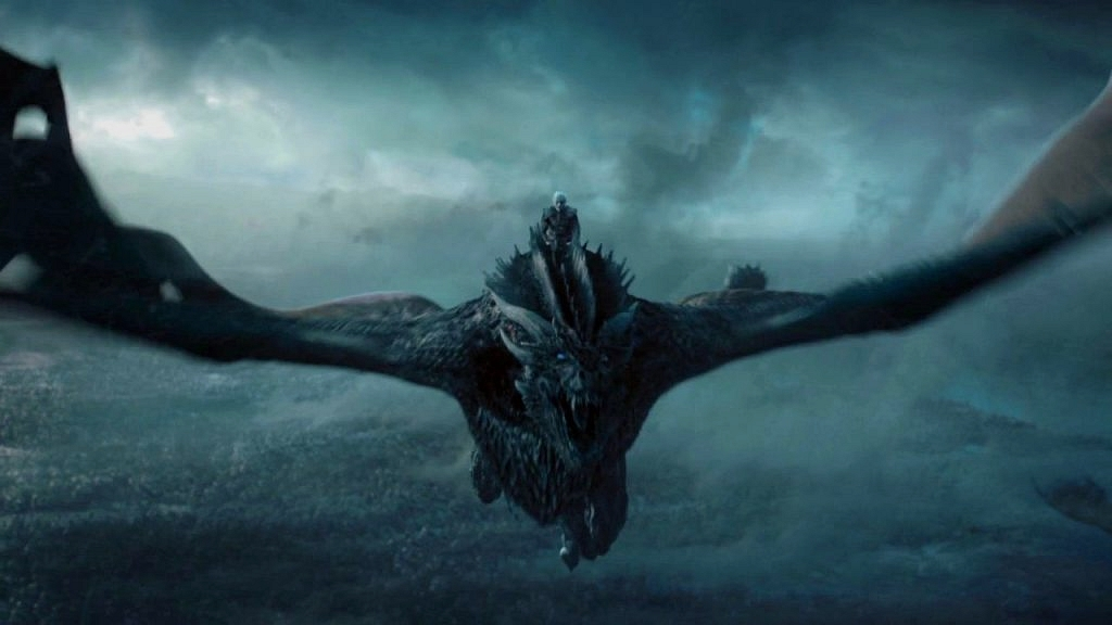 white walker dragon