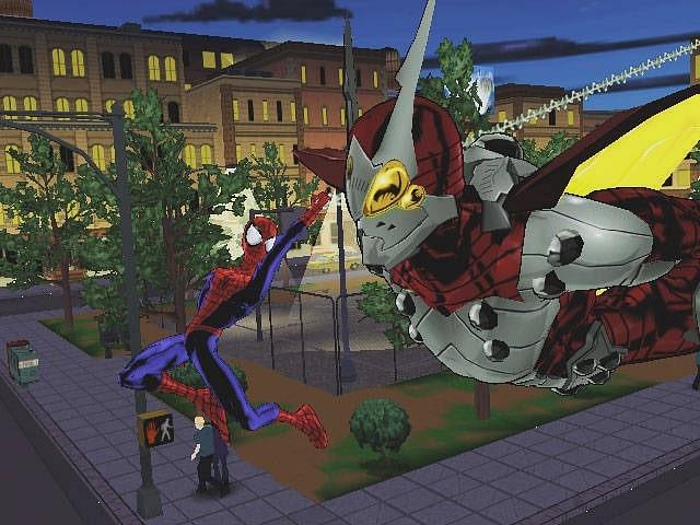 Spider-man oyunu ultimate spiderman