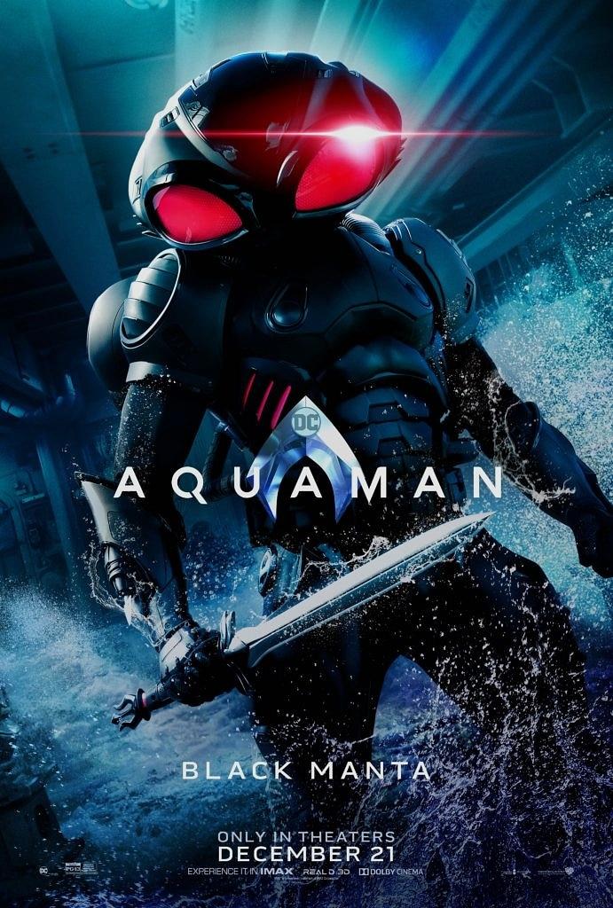 Aquaman filminin yeni afişleri