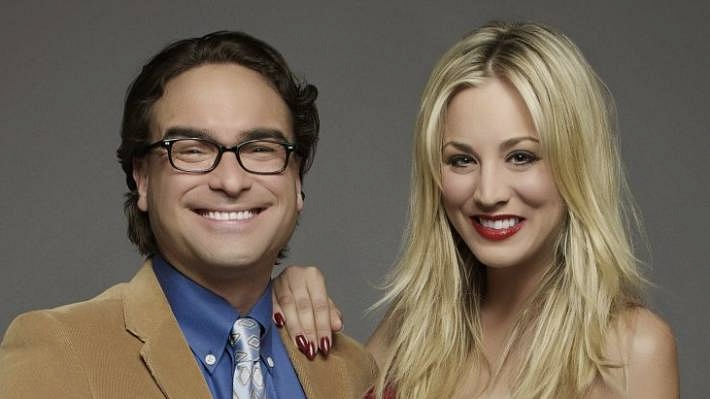 Johnny Galecki Ve Kaley Cuoco