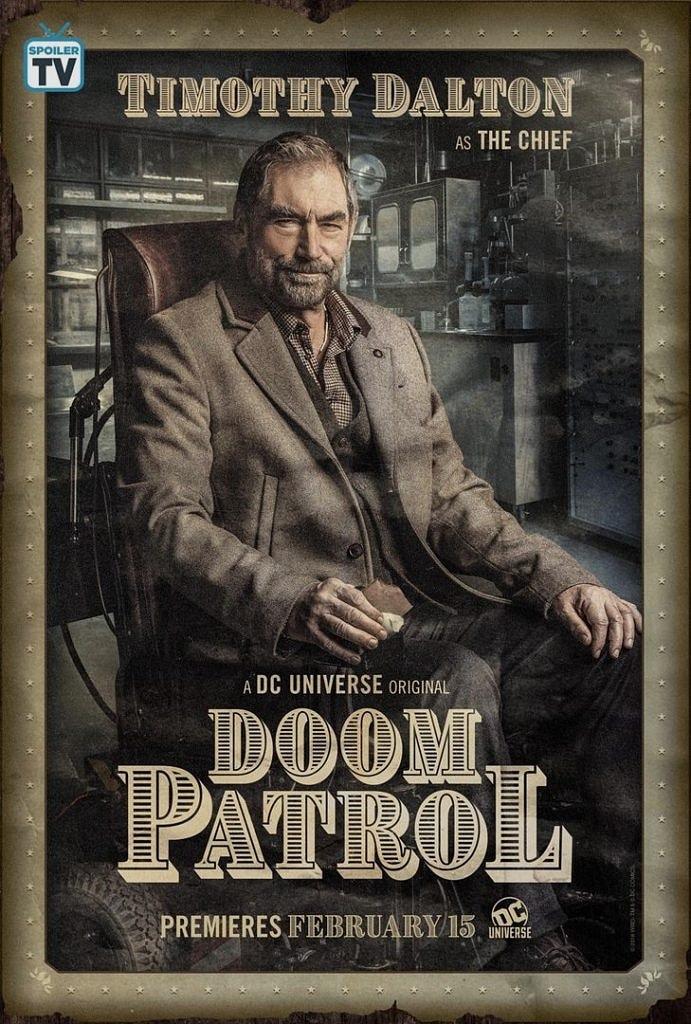 Doom Patrol dizi karakter