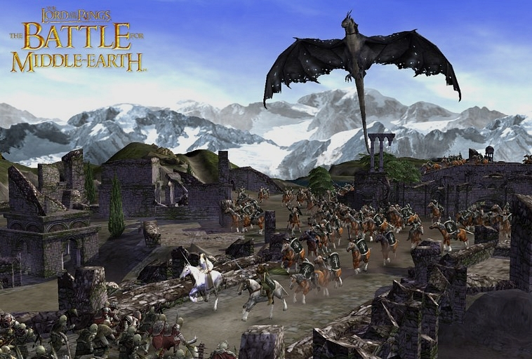 Strateji oyunları - Battle for middle earth