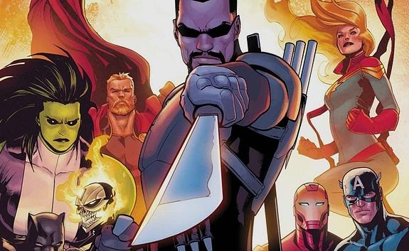 Çizgi romanlarda Blade
