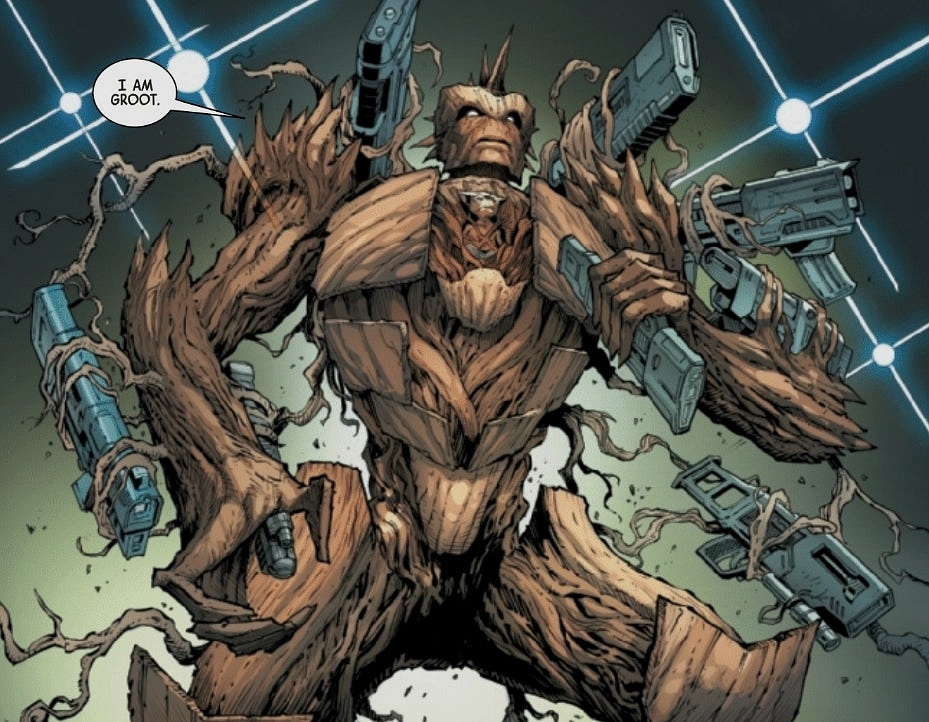 Groot ve Rocket Raccoon