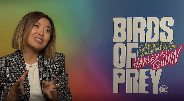 Comicbook.com sitesinden Cathy Yan röportajı görseli