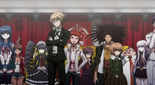danganronpa - Psikolojik Animeler