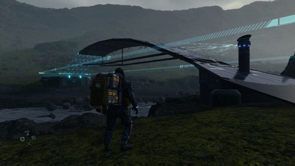 death stranding ekran oyun