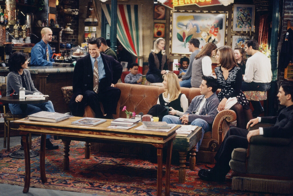 """FRIENDS -- """"The One After the Superbowl: Part 2"""" Episode 13 -- Air Date 01/28/1996"""