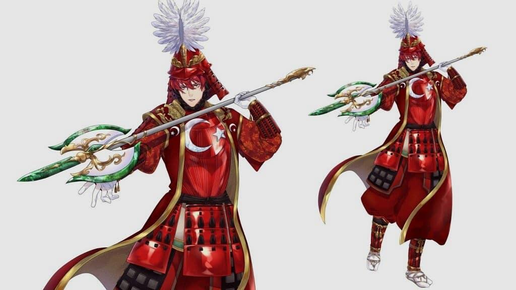 samuray anime karakterleri  TÜRK