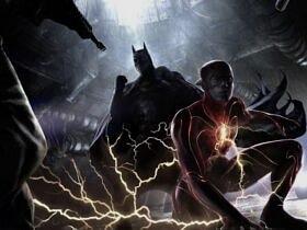 the flash fragmanı batman